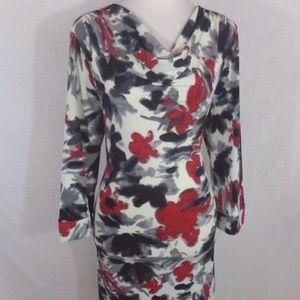 Alfani Womens Medium Long Sleeve Sheath Dress